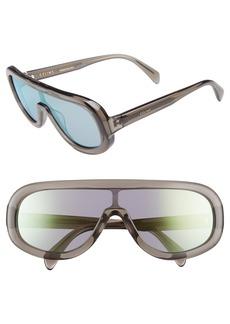 Celine Céline Flat Top Shield Sunglasses