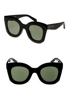 Celine Céline Special Fit 49mm Cat Eye Sunglasses