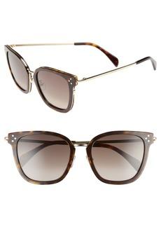 Celine Céline Special Fit 54mm Sunglasses