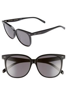 Celine Céline Special Fit 58mm Square Sunglasses