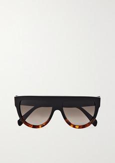 Celine D-frame Tortoiseshell Acetate Sunglasses