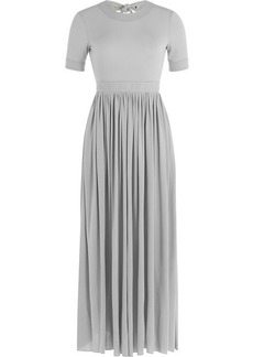 Celine Dress with Pleated Skirt