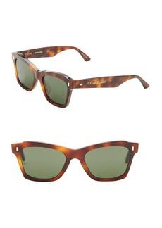 Celine Modern Cat-Eye Tortoise-Shell Sunglasses