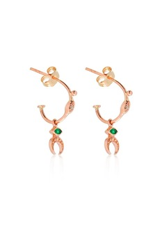 Celine Moon Croissant Earrings