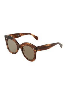 Celine Oversized Round Acetate Sunglasses