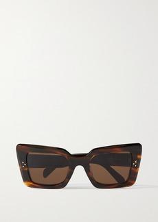 Celine Oversized Cat-eye Acetate Sunglasses