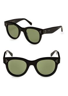 Celine Round Black Sunglasses