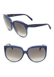 Celine Winter CL40048I 62MM Gradient Square Sunglasses
