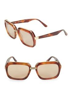 Celine CL40050U 56MM Square Sunglasses