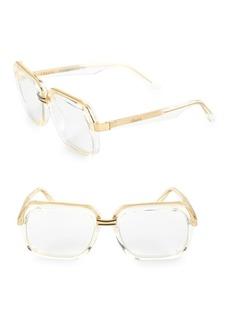 Celine CL40050U 56MM Transparent Square Sunglasses