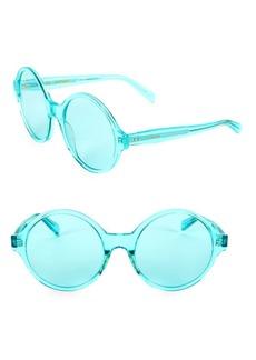 Celine Winter CL40051I 58MM Transparent Round Sunglasses