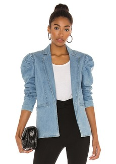 Central Park West Balsam Denim Blazer