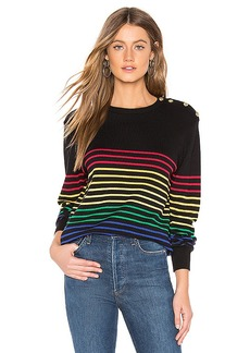 Central Park West Frascati Crew Nautical Sweater
