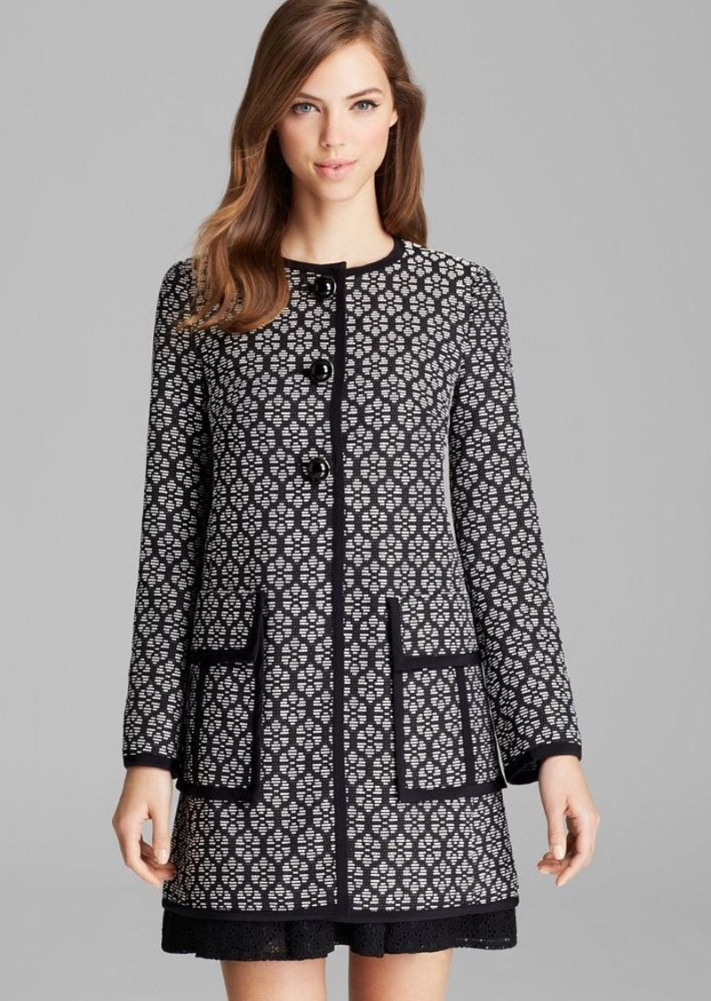 Nanette Lepore Coat - Young Love Jacquard
