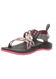 Chaco Girls' ZX1 Ecotread Sport Sandal fletched Pink 13 Medium US Little Kid