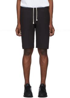 Champion Black Logo Bermuda Shorts