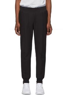 Champion Black Rib Cuff Lounge Pants