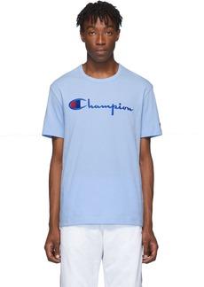 Champion Blue Big Script T-Shirt