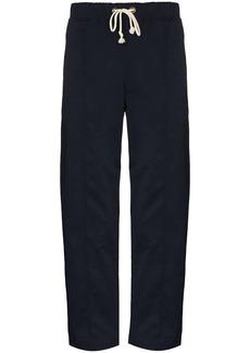 Champion drawstring waist straight trousers