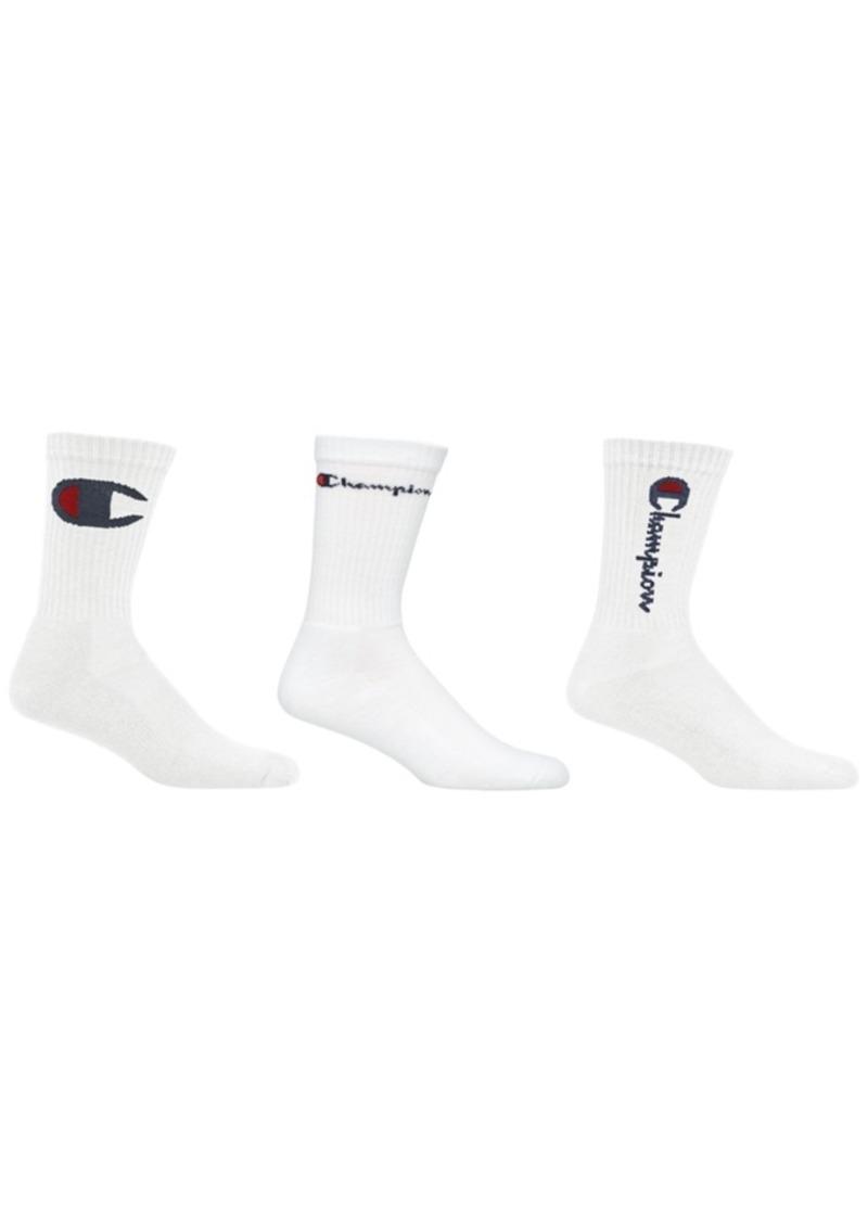 Champion 3-Pk. Crew Socks