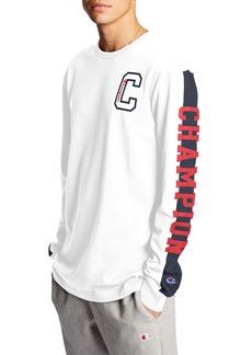 Champion Block Script Long Sleeve T-Shirt