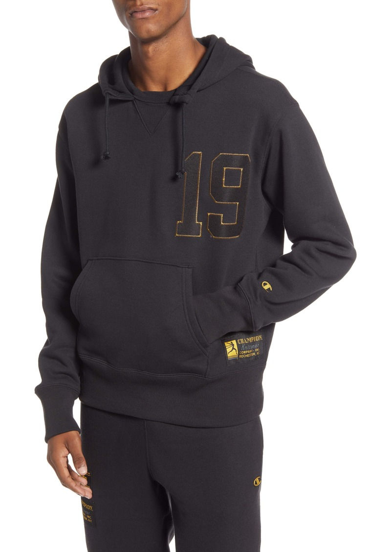 Champion Century Collection Gold 19 Hooded Sweatshirt