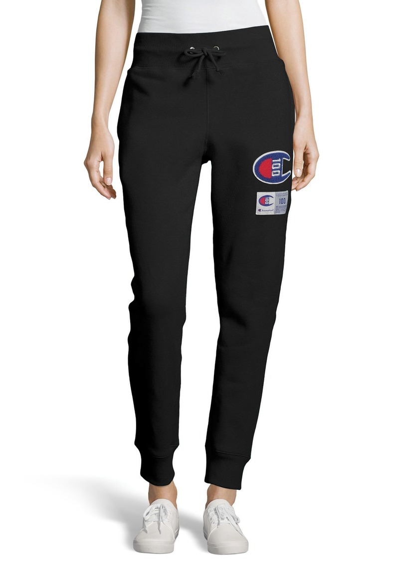 Champion Century Collection Logo Jogger Pants