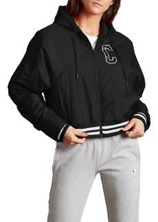 Champion Collegiate Logo Hooded Jacket
