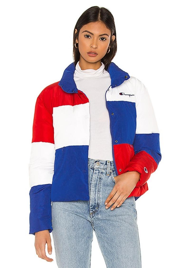 Champion Color Block Puff Jacket