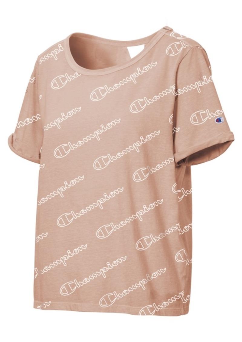 Champion Cotton Logo-Print T-Shirt