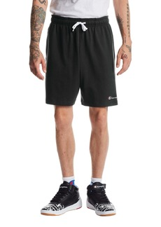 Champion Embroidered Script Logo Jersey Shorts