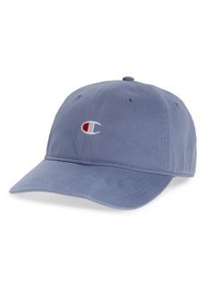 Champion Garment Wash Baseball Cap