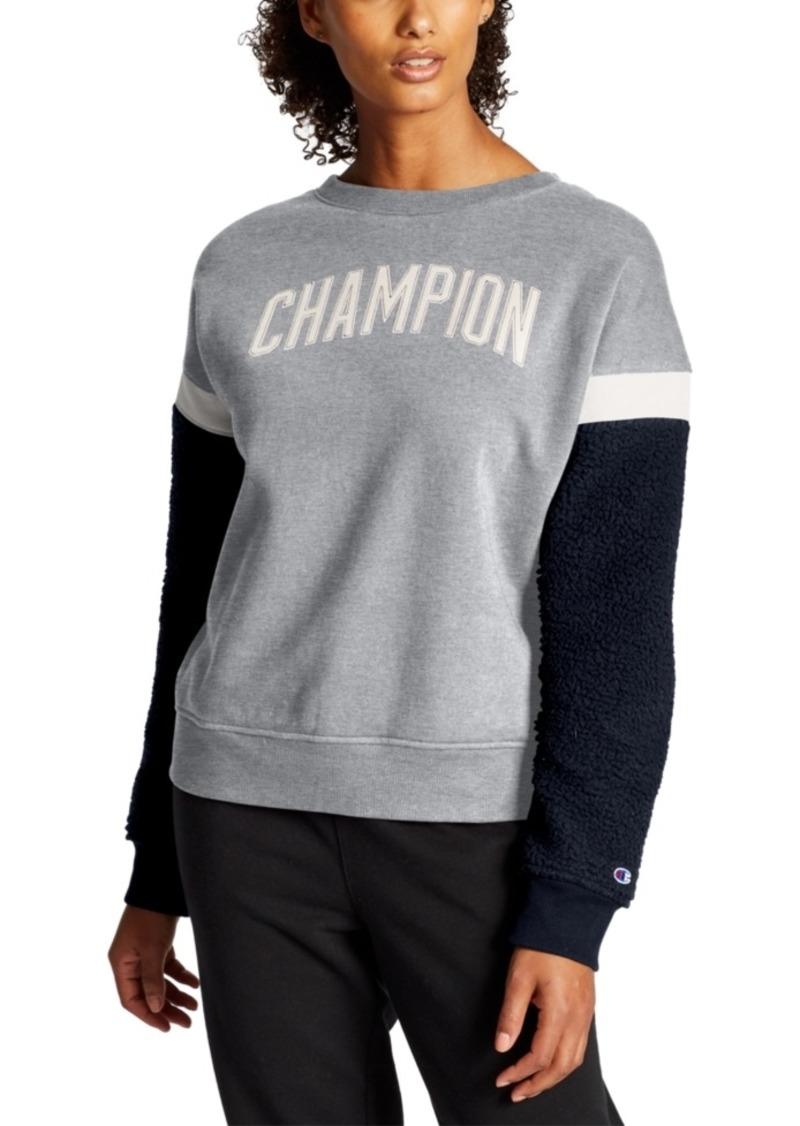 Champion Heritage Fleece Colorblocked Sweatshirt