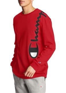 Champion Heritage Over Shoulder Script Long Sleeve T-Shirt