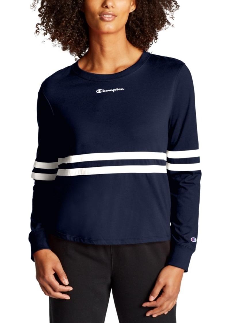 Champion Heritage Striped Long-Sleeve T-Shirt