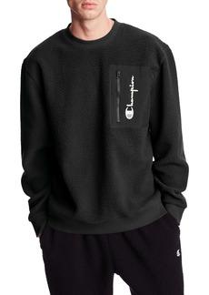 Champion High Pile Fleece Crewneck Sweatshirt