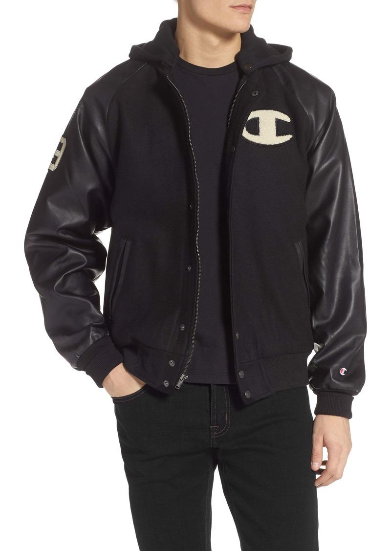 Champion Hooded Bomber Jacket