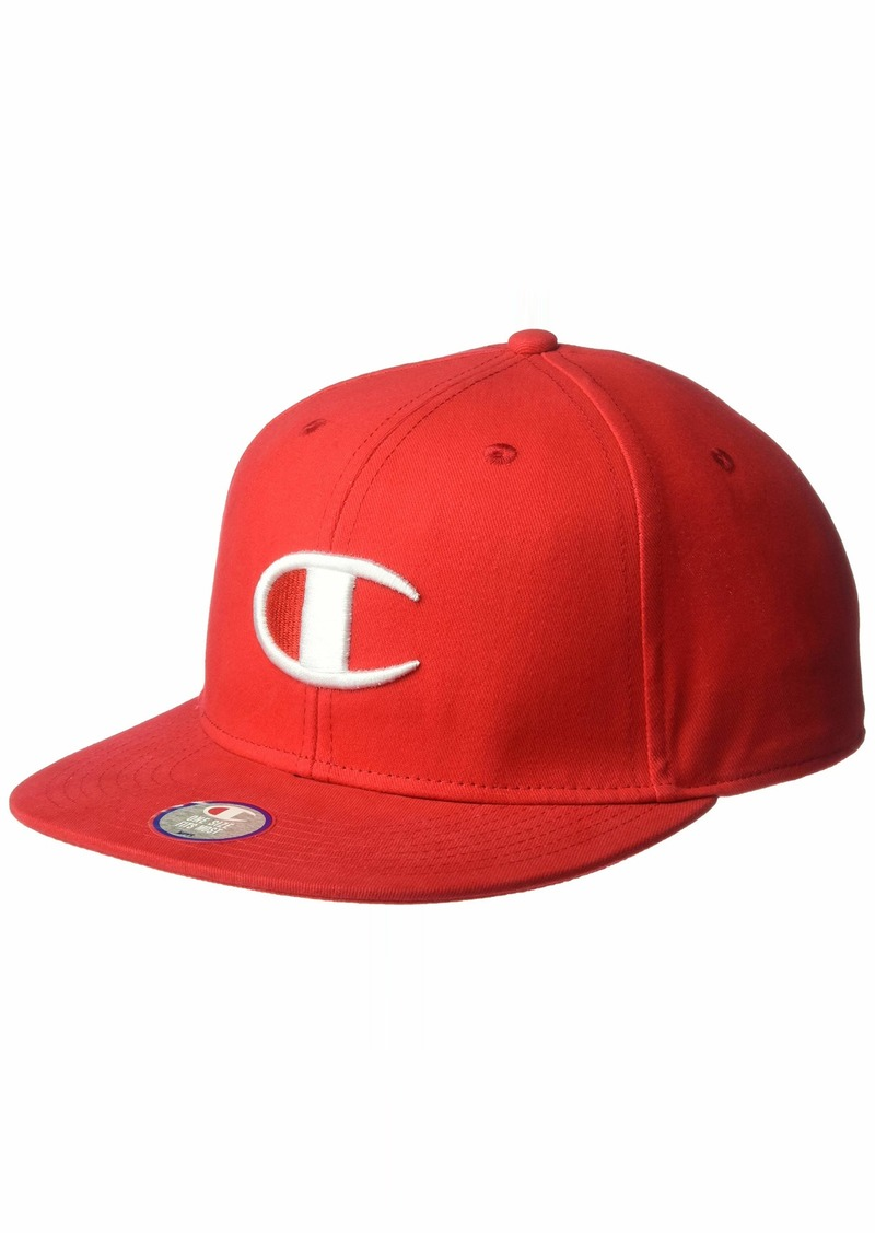 Champion LIFE Men's Baseball Snapback Hat with Big C Logo