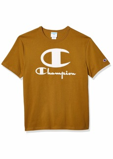 Champion LIFE Men's Heritage Short Sleeve TEE with Furry Logo  3X Large