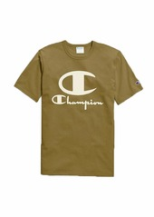 Champion LIFE Men's Heritage Short Sleeve TEE with Furry Logo