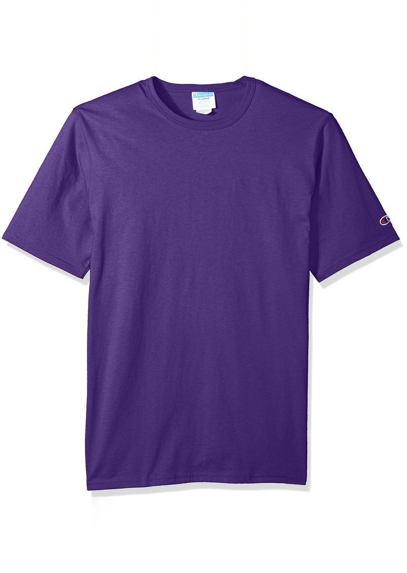 Champion LIFE Men's Heritage Tee Purple/Left Sleeve c Logo 3XL