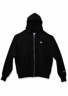 Champion LIFE mens Life Reverse Weave Full-zip Hoodie Sweatshirt   US