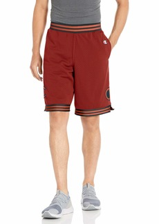 Champion LIFE Men's Rec Mesh Shorts Cherry Pie w/Big c Patch
