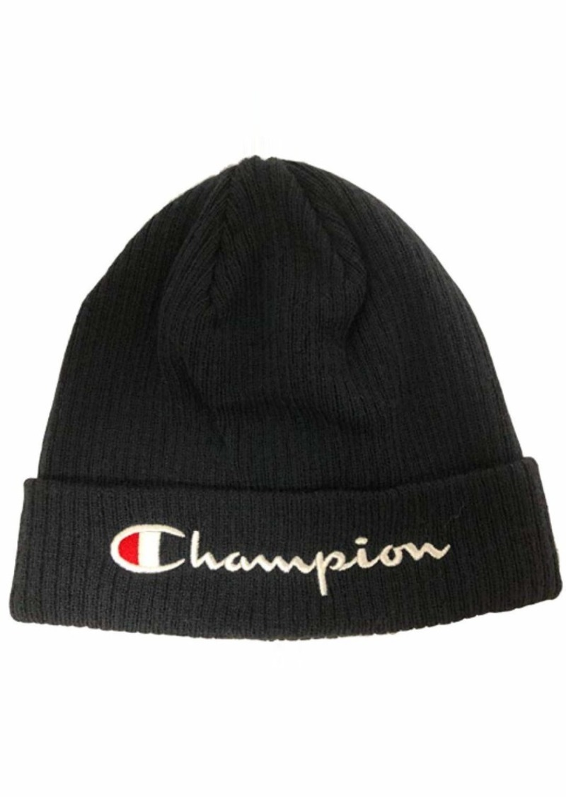 Champion Life Men's Script Beanie