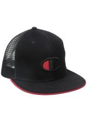 Champion LIFE Men's Snapback Baseball Hat with 'c' Logo Black OS