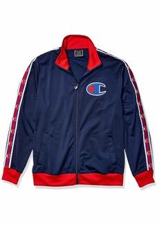 Champion Men's Track Jacket IMPERIAL INDIGO/SCARLET