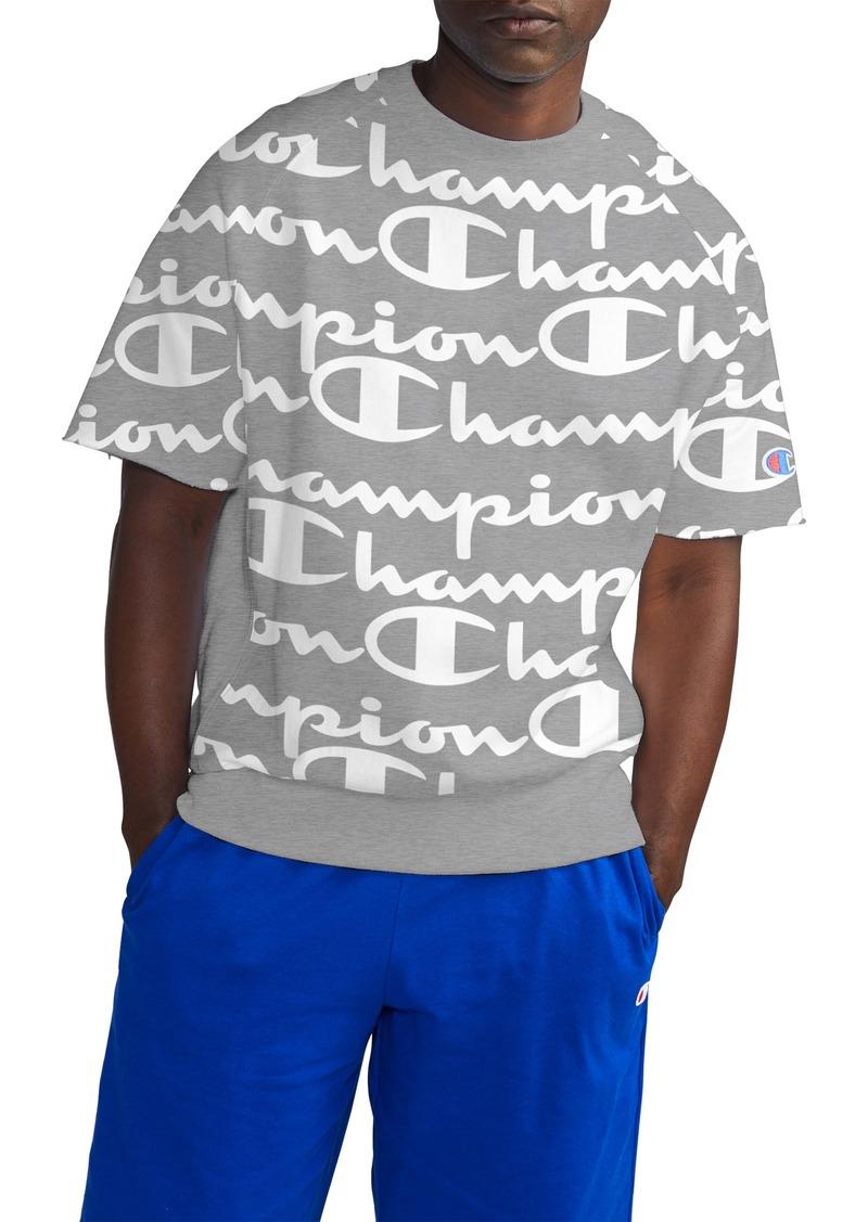 Champion Life® Reverse Weave Script Fleece Pullover