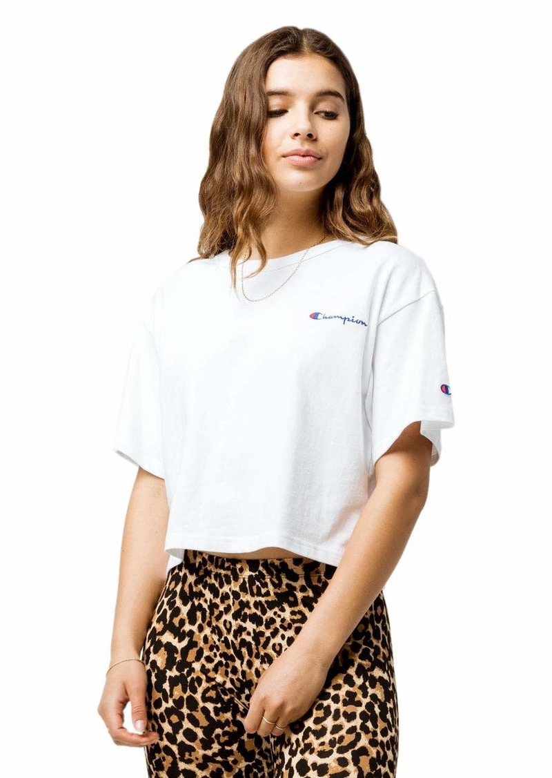 Champion LIFE Women's Crop Tee  L