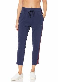 Champion Women's Vintage WASH Fleece Slim Pant-Small Left Leg C  2X Large