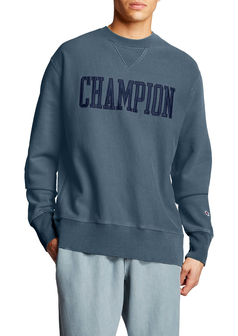 Champion Logo Appliqué Crewneck Sweatshirt